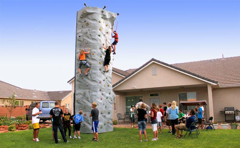 Climbing-Wall-Party-Event